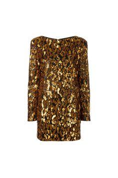 {Balmain / 01 clothing / 01 dress} Leopard Sequin Dress