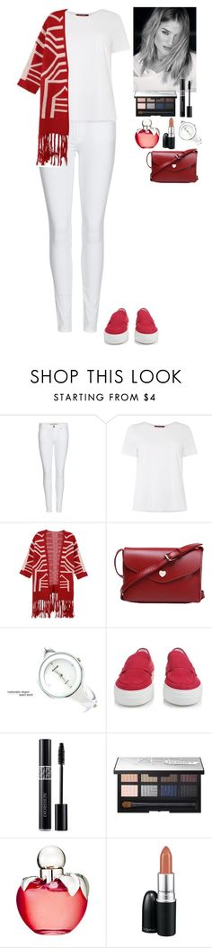 """""""Streetstyle TOMTOP"""" by eliza-redkina ❤ liked on Polyvore featuring moda, Burberry, MaxMara, Moncler, Christian Dior, NARS Cosmetics, Nina Ricci, MAC Cosmetics, StreetStyle i outfit"""