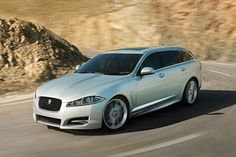 What's this? A new Jaguar... station wagon? Yup. Feast your eyes on the new family friendly Jaguar XF Sportbrake.