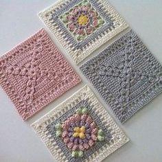 "207 Beğenme, 2 Yorum - Instagram'da Hülya Özdemir (@ozdemirhulya): ""#nice #cute #details #design #decor #ideas #square #model #motif #crochet #blanket #manta…"""
