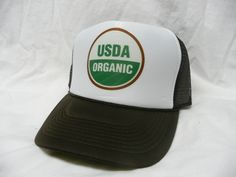 USDA ORGANIC Trucker Hat - Livestock & Animals Trucker Hats