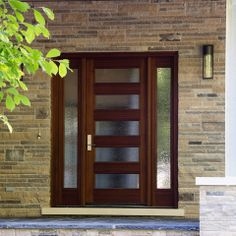 Exterior Design Ideas Pictures Remodels and Decor & Crestview Doors - Pictures of modern front doors for mid-century ...