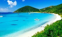 White Bay Beach Jost Van Dyke-  Most relaxing beach ever!  Home of Foxy's and Soggy Dollar Bar.