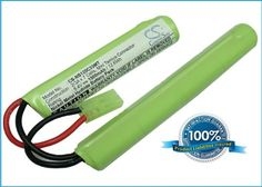 Battery2go 1500mAh Mini Tamiya 23A 7 cells Battery fits Airsoft Guns -- Check this awesome product by going to the link at the image.