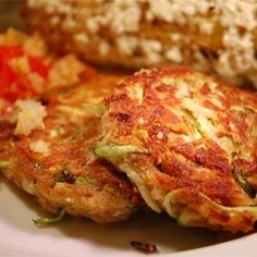 "Connie's Zucchini ""Crab"" Cakes - Allrecipes.com"
