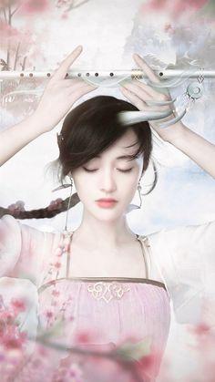Farheen like 👍 Beautiful Fantasy Art, Beautiful Anime Girl, Beauty Video Ideas, Japanese Drawings, Painting Of Girl, Cute Girl Pic, China Art, Beauty Art, Anime Art Girl