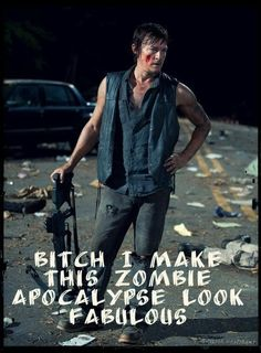 Daryl Dixon // The Walking Dead // Norman Reedus