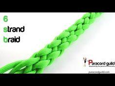 6 strand round braid - YouTube