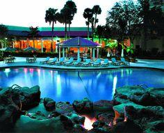 Take a dip in our resort-style outdoor pool. #RenaissanceBocaRatonHotel #Boca #BocaRaton #ThingsToDoInBocaRaton #BocaRatonAttractions