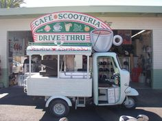 Cute coffee cart idea