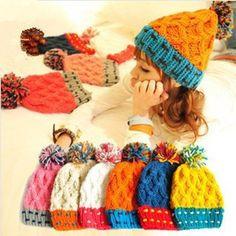 Дешевое Высокое качество 1 шт. женщин горные лыжи кап вязать теплую шапку красочные багги симпатичные шапочки для женщин рождественский подарок, Купить Качество Лыжные и вязаные шапки непосредственно из китайских фирмах-поставщиках: