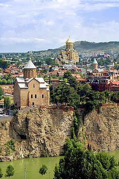 Tbilisi. A little less than three weeks and I'll be there!