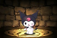 Kuromi - Puzzle & Dragons Wiki - Wikia Puzzles And Dragons, My Melody, Sanrio, Sonic The Hedgehog, Hello Kitty, Memories, Fictional Characters, Friends, Art