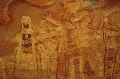 Ancient American pictographs, Shaman's gallery - Arizona strip