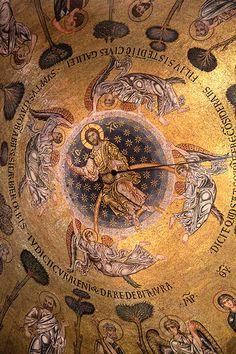 St Mark's Basilica Ceiling Mosaic (Basilica di San Marco) - Venice, Italy
