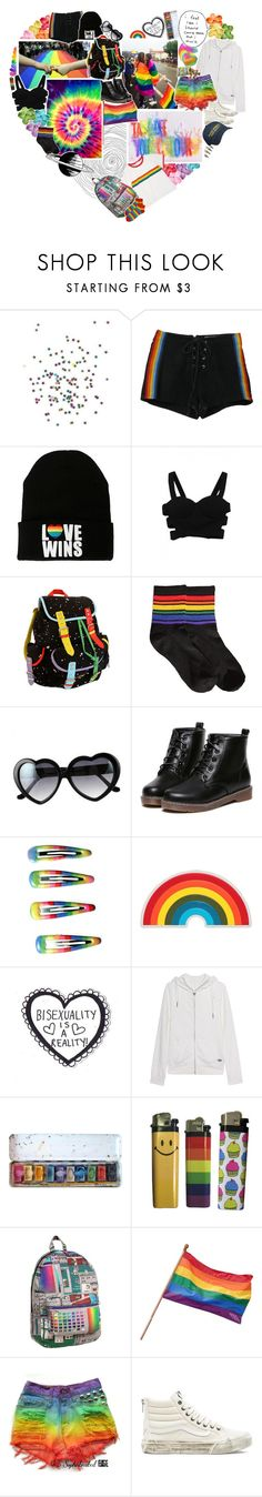 """you never could control me"" by impossibleyear ❤ liked on Polyvore featuring Retrò, Lazy Oaf, Anya Hindmarch, True Religion and Vans"