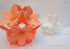 mas origami: flores