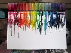Ramblings from the Sunshine State: Melted Crayon Art