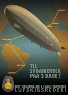 Airship Poster by Regicollis on deviantART