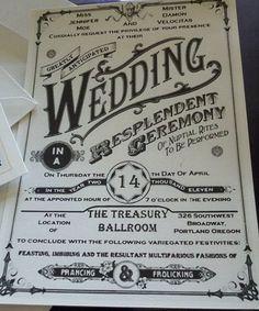 invitaciones vintage - B!!