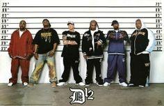 RAP LEGENDS POSTER D12 Police Line up Eminem NEW 24x36