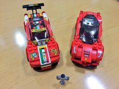 Lego loves Ferrari
