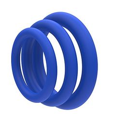 Lynk Pleasure Products Super Soft Erection Enhancing Blue Cock Ring 3 Pack - 100% Medical Grade Pure Silicone Penis Ring Set for Extra Stimulation for Him - Bigger, Harder, Longer Penis -- Review more details @ http://www.myvacationdestinations.com/naughtystore/lynk-pleasure-products-super-soft-erection-enhancing-blue-cock-ring-3-pack-100-medical-grade-pure-silicone-penis-ring-set-for-extra-stimulation-for-him-bigger-harder-longer-penis/&puv=140716023843