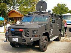 Full tactical gear.