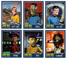 If Pixar made an animated Star Trek movie | BitShare - Internet Technology and Culture Blog