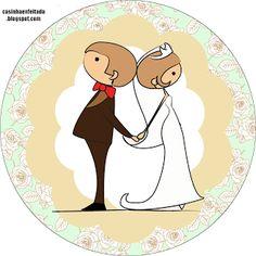 Wedding Icon, Wedding Tags, Diy Wedding, Custom Wedding Cake Toppers, Baby Box, Kirigami, Just Married, Happy Day, Decoupage