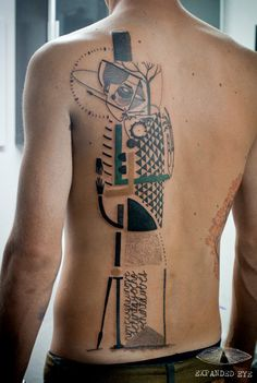 What would your abstract tattoo say about you?