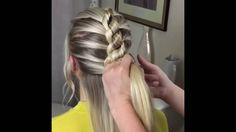Easy Peasy Knot Braid • Beth Belshaw Hair Stylist - YouTube