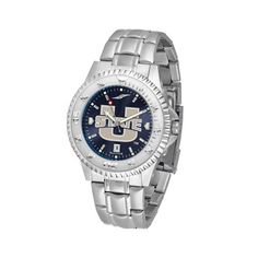 Utah State Aggies Competitor AnoChrome Men's Watch with Steel Band: Showcase the hottest design in… #Sport #Football #Rugby #IceHockey