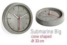 Submarine Big - Wall Clock Big