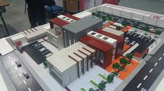 Maquette Architecture, Form Architecture, Minecraft Architecture, School Architecture, Hospital Design, Arch Model, Factory Design, New House Plans, Modern Buildings