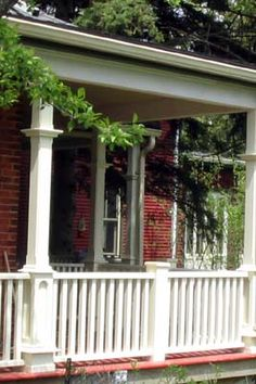 Home design on pinterest victorian porch railings and deck skirting