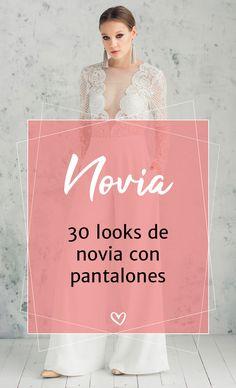 Descubre cómo llevar pantalones en el día de tu matrimonio. #matrimonioscl #pantalones #bridalpantsuit #pantsuir #vestidosdenovia #enteritosparanovia