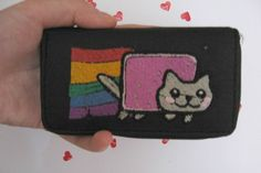 Nyan Cat Iphone 4 Case FREE SHIPPING by handstitchedbyaylin, $19.00