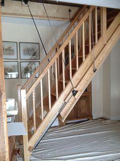 Best 62 Best Retractable Stairs Images Attic Ladder Attic Spaces Loft Ladders 400 x 300