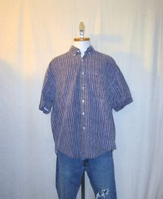 Vintage 80s OCEAN PACIFIC SURF Beach Summer Graphic Button Up Large Cotton Baggy Shirt