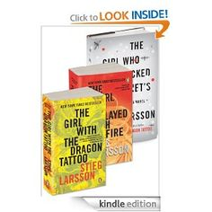 Girl with the Dragon Tatoo Trilogy. Intense reading.