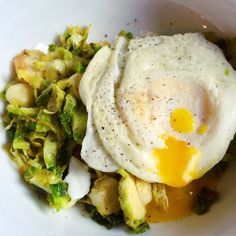 Brussels Sprout Hash | Caramelized