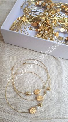 Bangles, Bracelets, Christening, Craft Projects, Hoop Earrings, Crafts, Jewelry, Fashion, Ideas