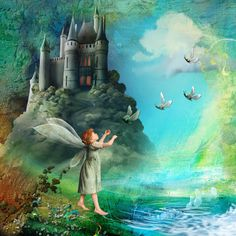 The Artist Faeries and Story Book Castle