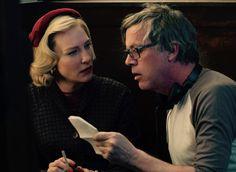 "Cate Blanchett filming ""Carol"" in Cincinnati, Ohio."