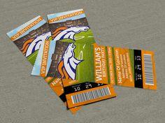 Denver Broncos Birthday Party Event Ticket Invitation 25 X 7 Football Invitations, Ticket Invitation, Custom Invitations, Party Invitations, Happy 4th Birthday, 13th Birthday Parties, Birthday Diy, Birthday Ideas, Denver Broncos