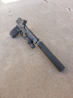Suppressed S&W M&P, Tanner B. photograp