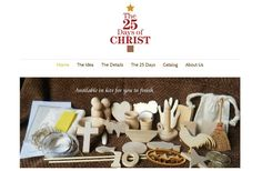 25 days of Christ, an ornament and scripture for the first 25 days of December to bring Christ into Christmas!