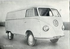 OG | 1950 Volkswagen VW T1 Transporter / Kastenwagen | Prototype dated 1949