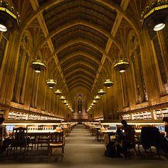 Suzzallo Library at University of Washington, Seattle — Seattle, Wash.